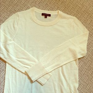 Cream colored sweater, Banana Republic